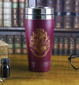 Harry Potter Hogwarts Crest Travel Mug