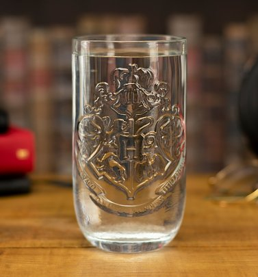 Harry Potter Hogwarts Shaped Glass