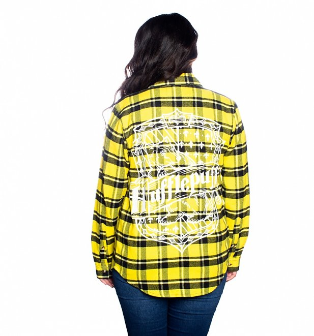 Harry Potter Hufflepuff Flannel Shirt from Cakeworthy