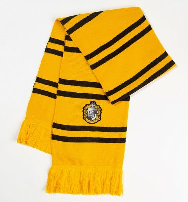 Harry Potter Hufflepuff Knitted Scarf