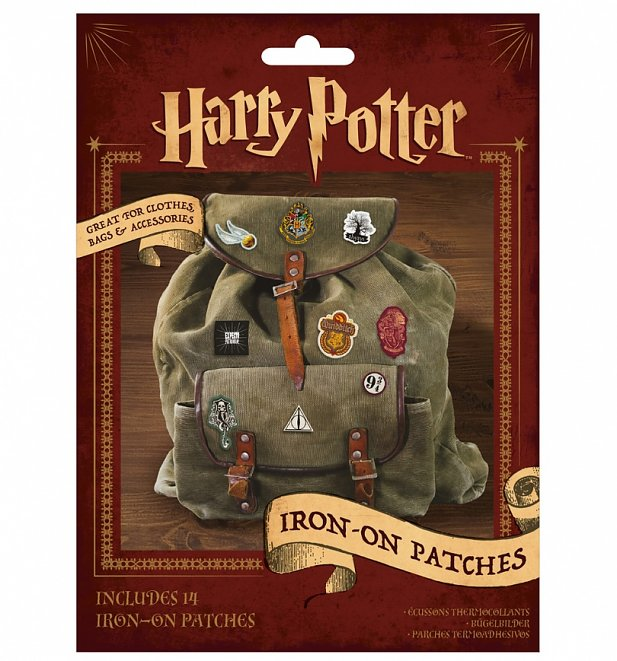 Harry Potter Iron On Patches