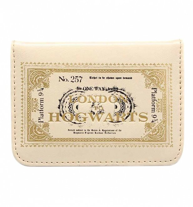 Harry Potter London To Hogwarts Travel Pass Holder