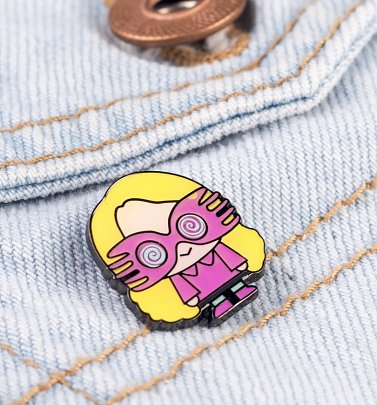 Harry Potter Luna Lovegood Enamel Pin Badge