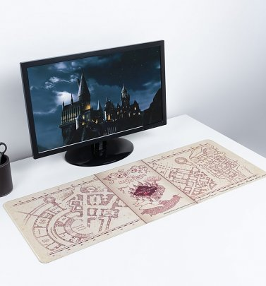Harry Potter Marauders Map Desk Mat