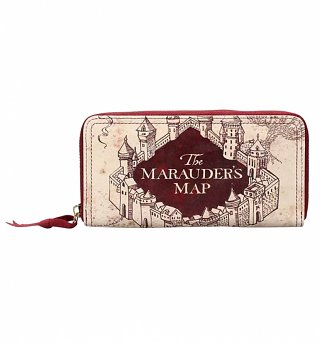 Harry Potter Marauder's Map Purse