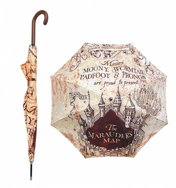 Harry Potter Marauder's Map Umbrella