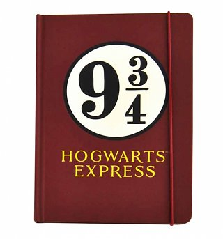 Harry Potter Platform 9 and 3/4 A5 Notebook