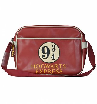 Harry Potter Platform 9 and 3/4 Messenger Bag