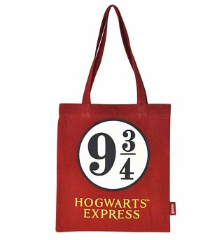 Harry Potter Platform 9 and 3/4 Tote Bag