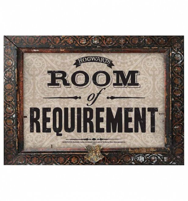 Harry Potter Room Of Requirement Large Tin Sign