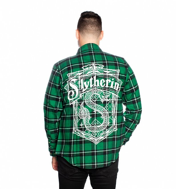 Harry Potter Slytherin Flannel Shirt from Cakeworthy