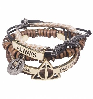 Harry Potter Stacking Bracelets Set