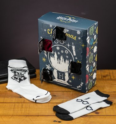 Harry Potter Twelve Days Sock Advent Calendar