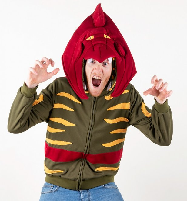 He-Man And The Masters Of The Universe Battle Cat Costume Hoodie