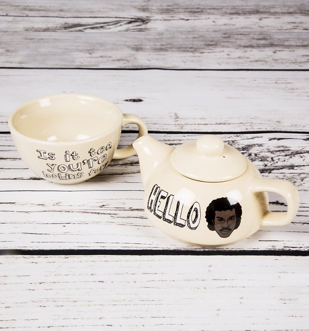 Hello Is It Tea You're Looking For Teapot And Cup For One Set