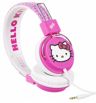 Hello Kitty Pink Bow Headphones