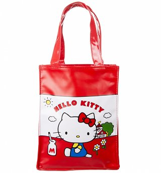 Kids Hello Kitty Vintage PVC Tote Bag