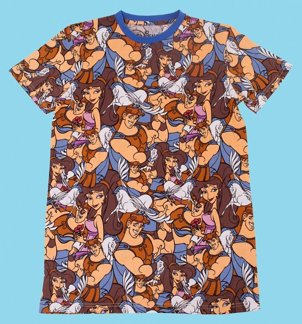 Hercules All Over Print T-Shirt from Cakeworthy