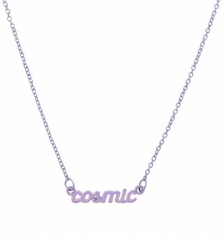 Iridescent Lilac Nineties Cosmic Necklace from Me & Zena
