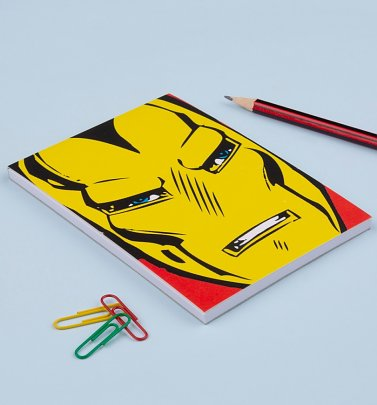 Iron Man Face Magnetic Notepad