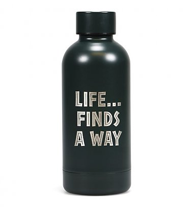 Jurassic Park Life Finds A Way Stainless Steel Water Bottle