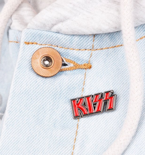 KISS Logo Enamel Pin Badge