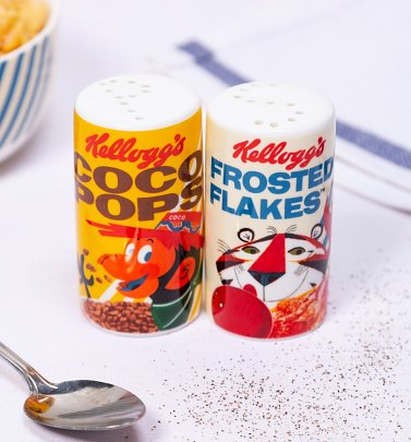 Kellogg's Salt and Pepper Pots