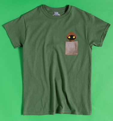 Khaki Star Wars Jawa Pocket T-Shirt