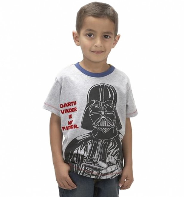 Kids Darth Vader Is My Father Star Wars T-Shirt