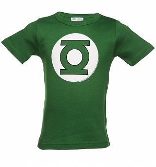 Kids Green DC Comics Green Lantern Logo T-Shirt