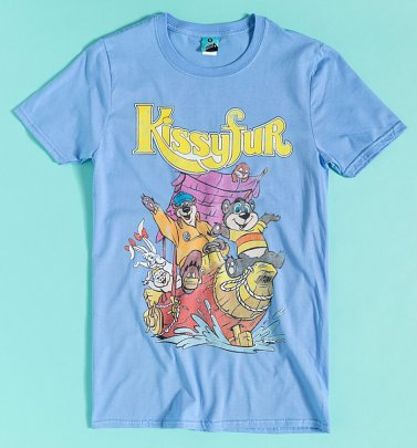 Kissyfur Blue T-Shirt