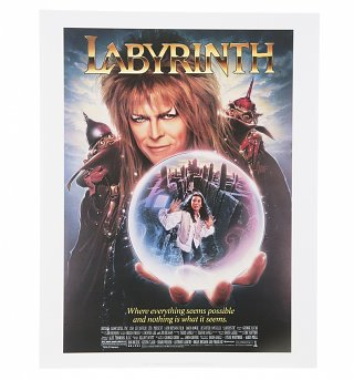 "Labyrinth Crystal Ball Movie Poster 11"" X 14"" Art Print"