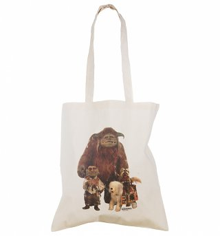 Labyrinth Friends Canvas Tote Bag