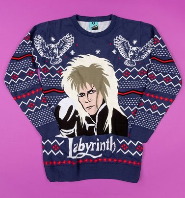 Labyrinth Jareth Knitted Jumper