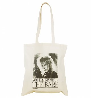 Labyrinth Jareth You Remind Me Of The Babe Canvas Tote Bag
