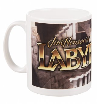 Labyrinth Movie Logo Boxed Mug