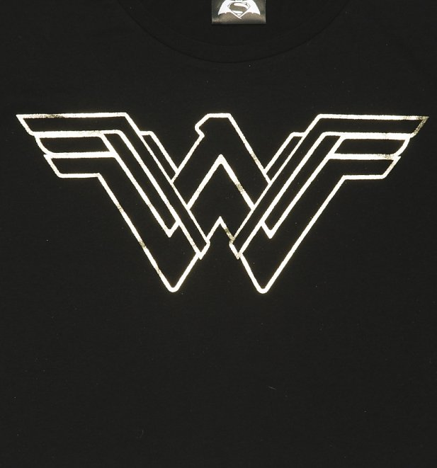 Gold Wonder Woman Logo Pictures to Pin on Pinterest ...