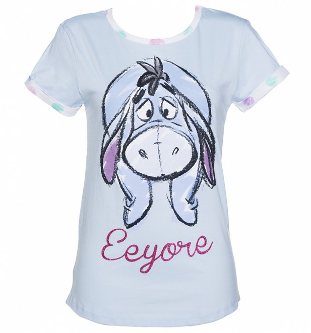 Women's Blue Eeyore Pyjamas