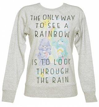 Women's Care Bears Only Way To See A Rainbow Sweater