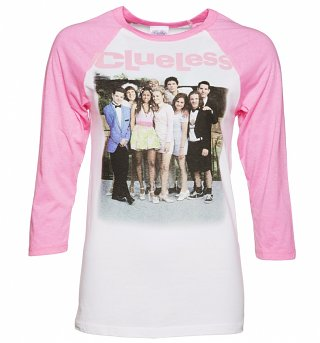 Women's Clueless Gang Raglan Baseball T-Shirt