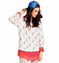 Women's Coca-Cola Spin The Bottle Baggy Beach Jumper from Wildfox