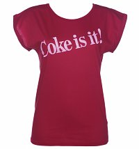 Women's Coke Is It! Rolled Sleeve Tunic T-Shirt