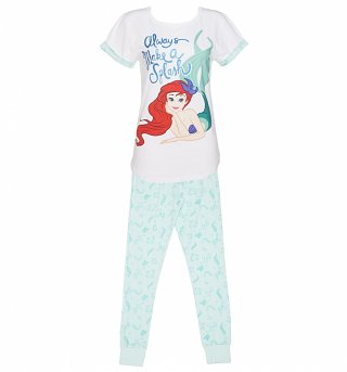 Women's Disney Little Mermaid Pyjamas