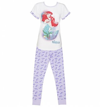 Women's Disney Little Mermaid Shells Pyjamas