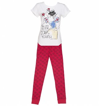 Women's Disney Snow White Sketch Pyjamas