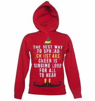 Women's Elf Christmas Cheer Hoodie
