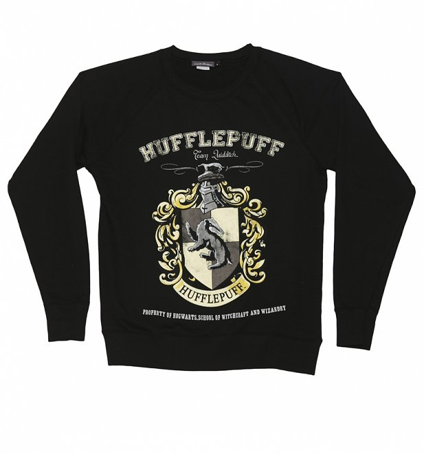 Women's Harry Potter Hufflepuff Team Quidditch Sweater
