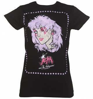 Women's Jem and the Holograms Wink T-Shirt