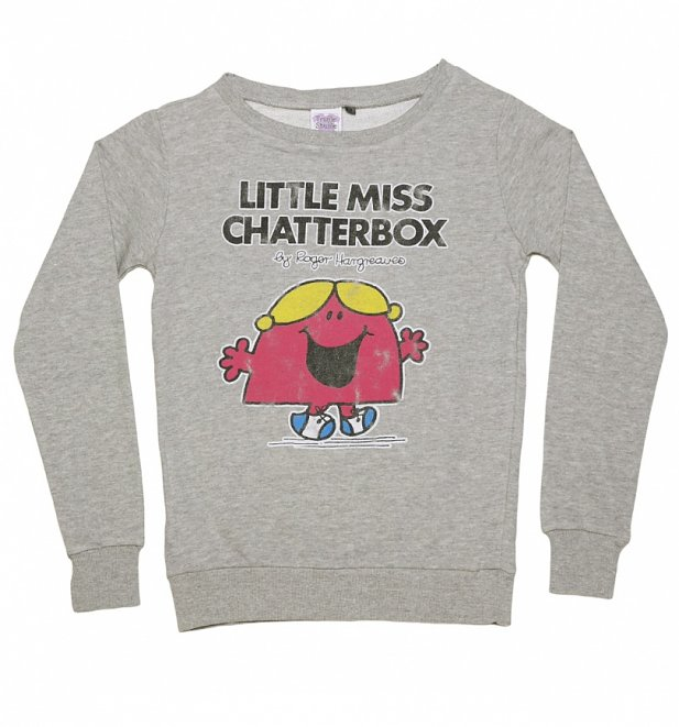 Women's Little Miss Chatterbox Sweater