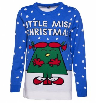 Women's Little Miss Christmas Knitted Jumper